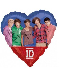 Globos Foil One Direction - Corazon 45cm - A-2679101