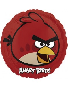 Globos Foil Angry Birds Red Bird - Redondo 45cm - A-2577001