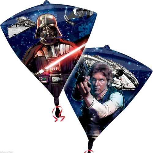 Globos Star Wars - Foil DIAMONDZ 43cm - A3039801