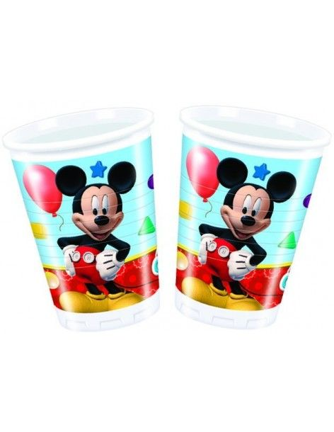 Vasos Mickey Mouse Club House de 200ml