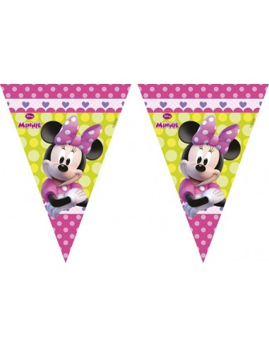 Banderin Minnie Mouse Rosa