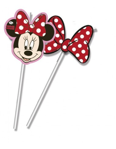 Pajitas Minnie Mouse Dots