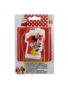 Velas Minnie Mouse Cafe Numero 1