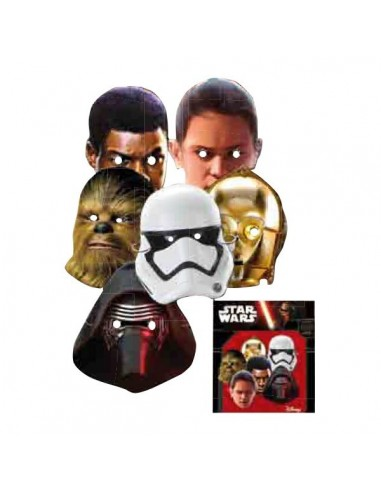 Caretas Star Wars The Force Awakens 6 UDS