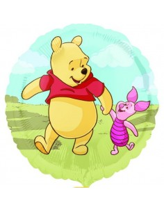 Globo Winnie The Pooh and Piglet