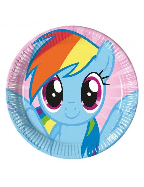 Platos My Little Pony de 23cm