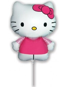 Globo Hello Kitty Fucsia Mini Forma