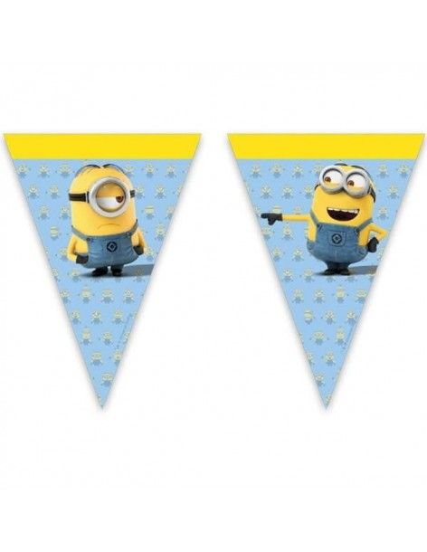 Banderin Lovely Minions 1 UD