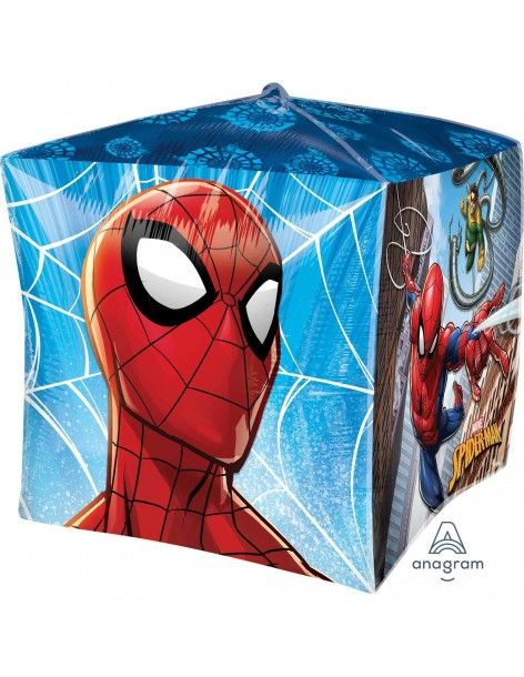 Globo Spiderman Homecoming Cubo 38cm