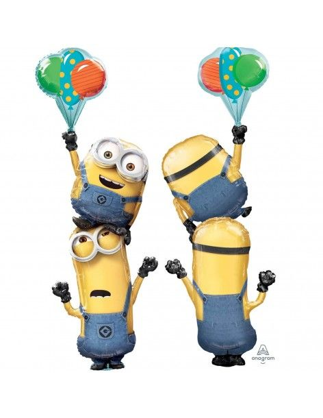 Globo Minions Party Forma 154cm
