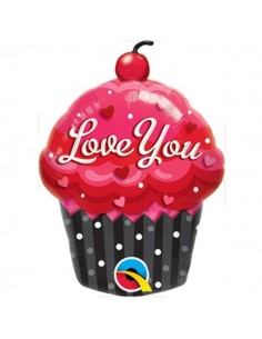 Globo Love You Cupcake - Mini Forma 35cm Foil Poliamida - Q40129