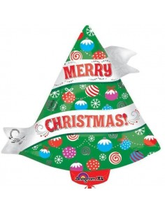 Globo Ribbon Christmas Tree Forma 45cm
