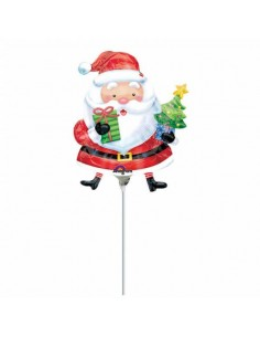 Globo Santa with Tree Mini Forma 35cm