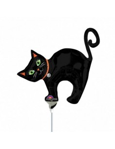 Globo Halloween Cat - Foil Mini Forma 35cm -  A2513102