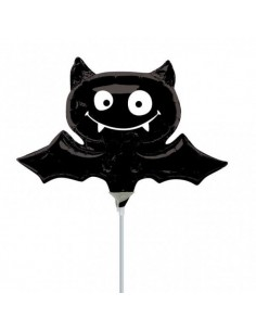 Globo Black Bat - Foil Mini Forma 35cm -  A2726902