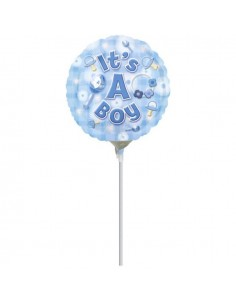 Globo New Baby Boy - Mini 10cm Foil Poliamida - A2688402