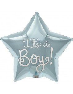 Globo Its a Boy - Mini Forma 22cm Foil Poliamida - NSB00408