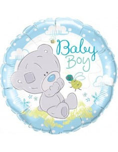 Globo Tiny Tatty Teddy Baby Boy - Redondo 45cm Foil Poliamida - Q28172