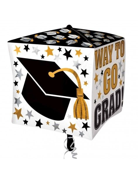 Globo Way To Go Grad Cubo 38cm