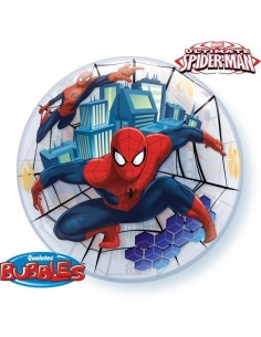 Globo SpiderMan - Bubble Burbuja 55cm - Q41706
