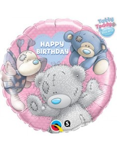 Globo My Blue Nose Friends Birthday Redondo 45cm Foil Poliamida Q20723