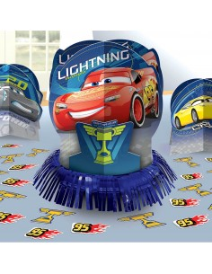 Decoracion de Mesa Cars 3