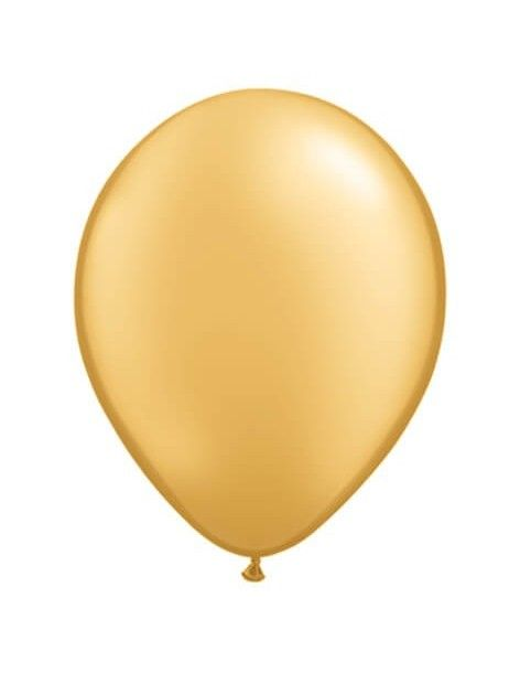 Globo Qualatex Redondo 13cm Metalizado Oro