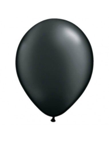 Globo Qualatex Redondo 28cm Metalizado Negro