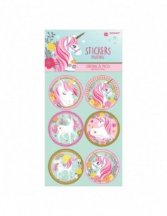 Stickers Magical Unicorn 24 UDS
