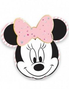 Platos Minnie Mouse Party Gem 25cm 4 UDS