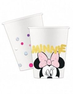 Vasos Minnie Mouse Party Gem 200ml 8 UDS