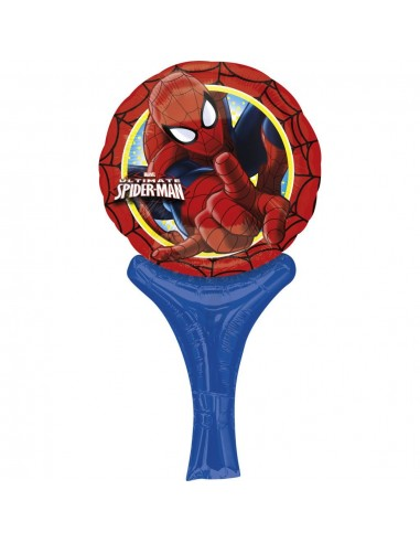 Globo Mini Auto Inflable Spider-Man - A-2702701