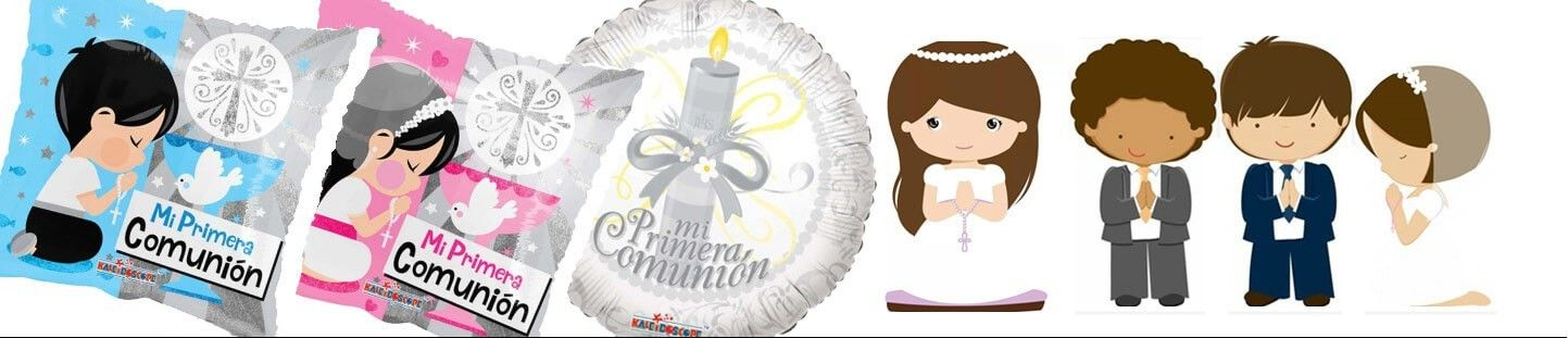 Globos Comunion. Ideas Originales para Decoracion de Comunion