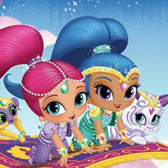 Globos Shimmer and Shine