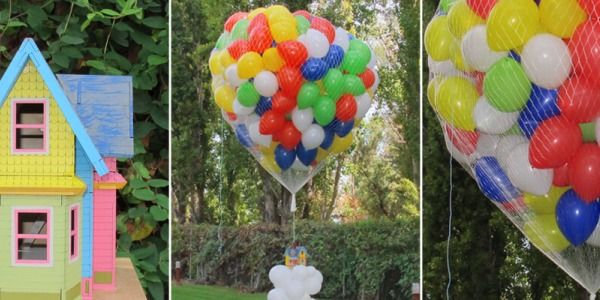 Casita Up con Globos